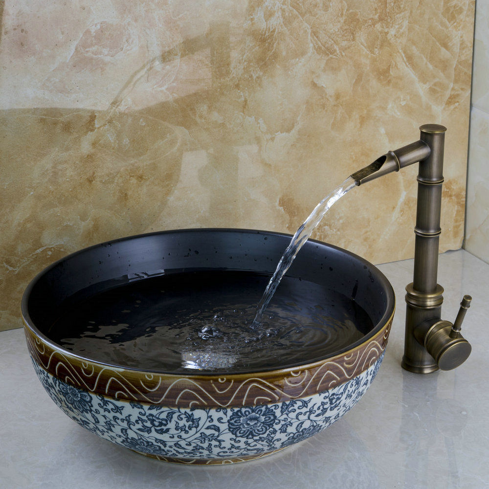 Lavabo bagno vetro affordable mobile bagno sospeso con - Prezzi lavandino bagno ...