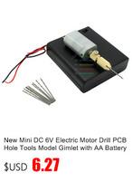 Электрическая дрель Mirco DC12V PCB 0.8/0.9/1.0/1.1/1.2/1.3/1.4/1.5mm