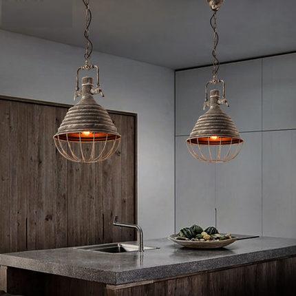 Antique Loft Style Vintage Pendant Light Fixtures Edison Industrial Lamp For