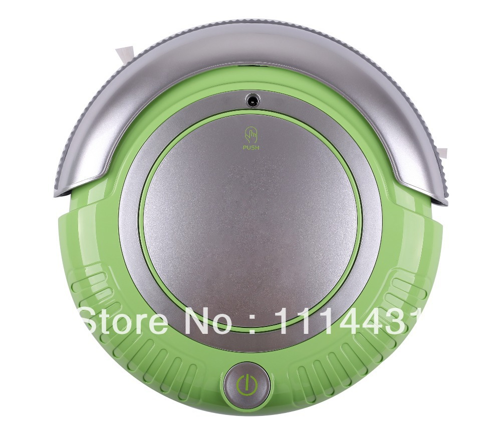 Free Shipping Smart Vacuum Cleaner Robot(Vacuum, Sweep, Mop),Removable 2 Side-brushes, Flashing LED Lights,3 Working Modes(China (Mainland))