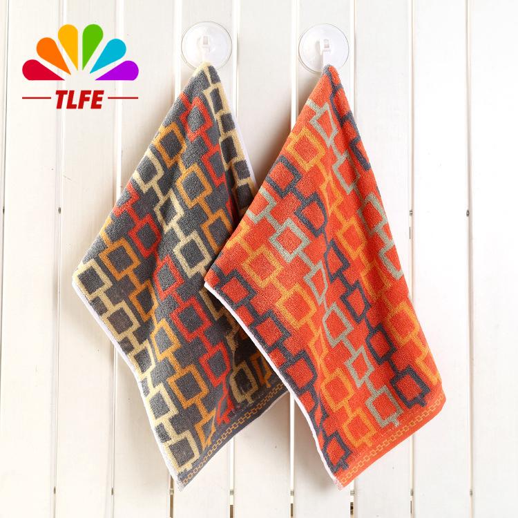 TLFE Towel 1pc High Quality 100% Cotton Fiber Gift Towel Soft Brand Bulk Grid Plaid Plain Dyed Cotton Towels Home Gift FD090(China (Mainland))