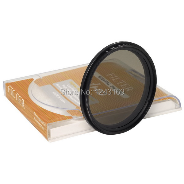 Slim 52mm Fader Variable ND Filter Neutral Density Adjustable ND2 to ND400 LF110(China (Mainland))