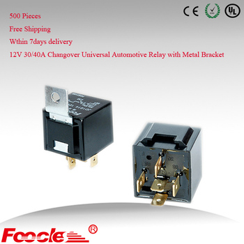 Free Shipping 12V 30/40A SPDT 5PIN Hella Type Automotive Relay