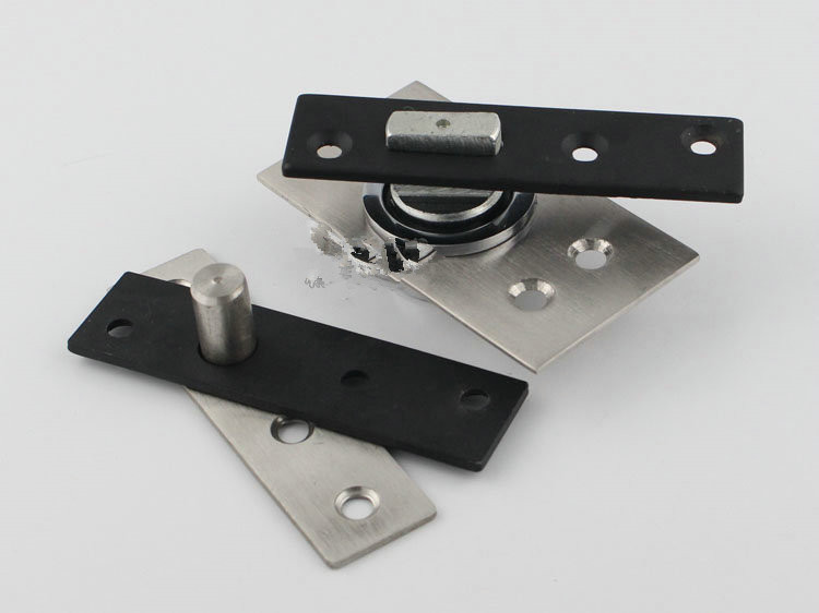 The heavy wooden door under 360 degree rotating hinge positioning shaft concealed hinge(China (Mainland))