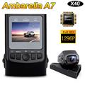 Free Shipping Ambarella A7LA50 X40 Capacitor H 264 HD 1296P Car Dash Camera Video DVR dash