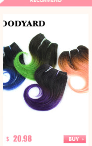 4Bundle/lot 50g/Bundle 8Inch Brazilian Virgin Hair Short Size Deepwave Human Hair Weaving 100% Human Hair Extension