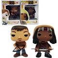 FUNKO POP The Walking Dead Michonne Daryl Dixon 14 Hot movie PVC Action Figure Collection Model