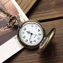 Merry Christmas Santa Claus Children Xmas Gift Necklace Relogio De Bolso Pocket Watch Relogio De Bolso