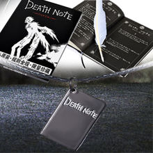 Drawing Toys Death Note Notebook Book With Feather Pen&Pendant Leather Cover Ruled Page Light Yagami Ryuk Supernatural God book1(China (Mainland))