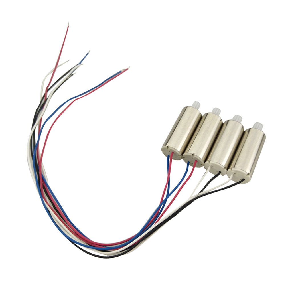 4Pcs Motor CW CCW for UDI RC U42W U42WH U45 U45W RC Remote Control Helicopter Spare Parts Four-axis Drone Motor