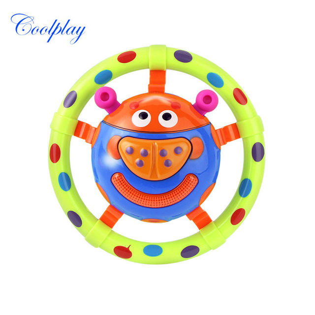 Coolplay CP1013-5 baby toys with sound and light ladybug baby toy children musical toys / grasping toy as a gift for little kids