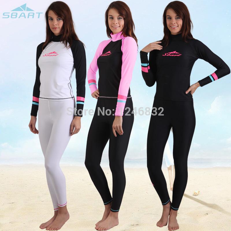 Promotion HOT! Women Sleeved Swimsuit XL good quality Sbart Windsurfing 4 different designs women rash guard(China (Mainland))
