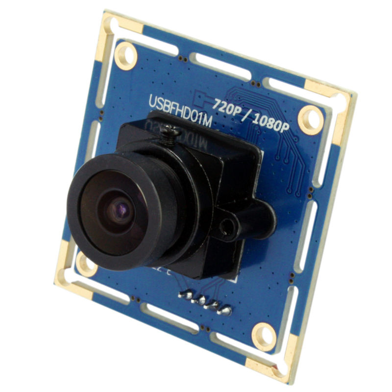 1080p Full Hd MJPEG 30fps/60fps/120fps High Speed CMOS OV2710 Wide Angle Mini CCTV Android Linux  UVC Webcam Usb Camera Module