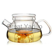 Heat resistant glass teapot with infuser 3 in 1 Trivina 600ml free shipping