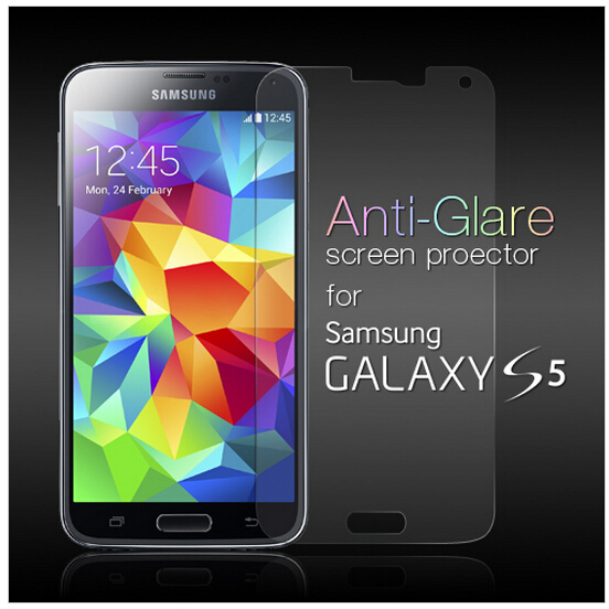 1pcs Clear S5 Screen Protector For Samsung i9600 Screen Protective Film Hight Quanlity
