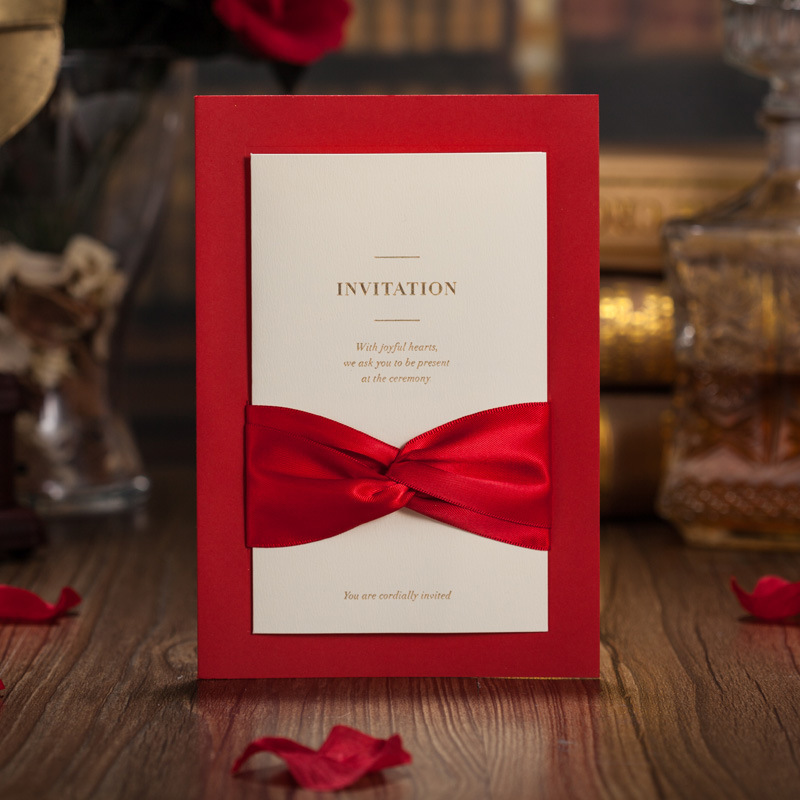 The Pure Love Unique Wedding Invitation Wedding Invitation Stationery Kits Wedding Invitation Wholesalers 50Pcs/Set 5026(China (Mainland))