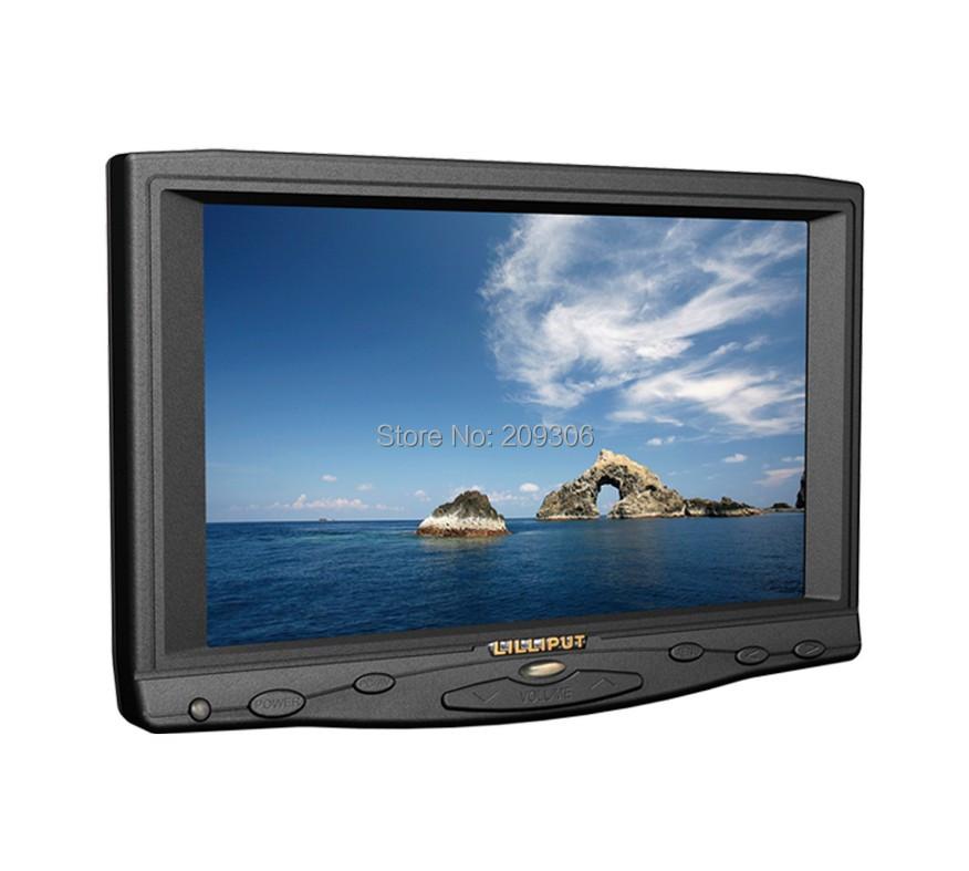 """LILLIPUT 619AT 7"""" TFT LED touch screen HDM monitor Professional Car PC monitor HDMI VGA DVI AV input support HDMI Camera Monitor(China (Mainland))"""