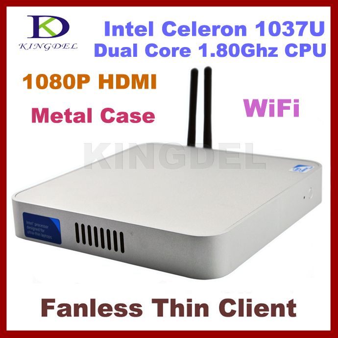 Widely Used thin client computer Nettop,Dual core Intel Celeron 1037U 1.8Ghz,2GB Ram,500GB HDD,HDMI, WIFI,Windows 7,3D Game(Hong Kong)