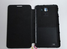 original thl w6 cover case thl w6 Dual core MTK6577 leather case(China (Mainland))