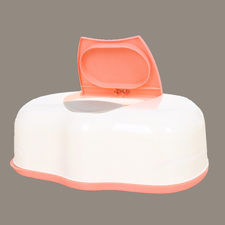 1Pcs Baby Wet Wipes Box Plastic Tissue Box Automatic Wet Wipes Case Baby Care Accessories Press Pop-up Design(China (Mainland))