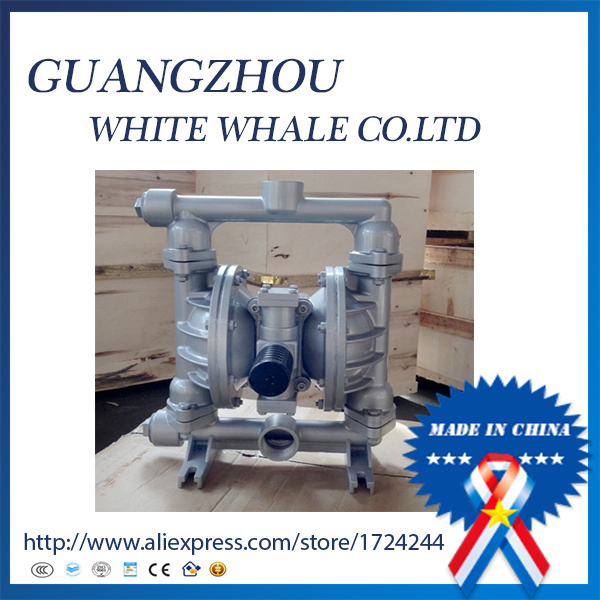 QBY-40 Chemical dedicated infusion aluminum pneumatic diaphragm pump with F46 diaphragm