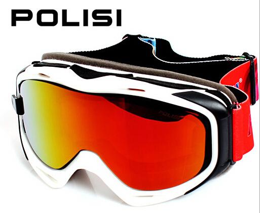 POLISI Winter Snow Snowboard Goggles Replaceable 2 Lenses Anti-Fog Skiing Eyewear Men Women Polarized Ski Skateboard Glasses<br><br>Aliexpress