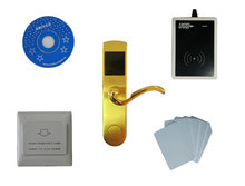 Buy Free ship DHL,T57 card hotel lock system,include T57 hotel lock, usb hotel encoder,energy saving switch,T57 card,sn:CA-8010 for $205.00 in AliExpress store