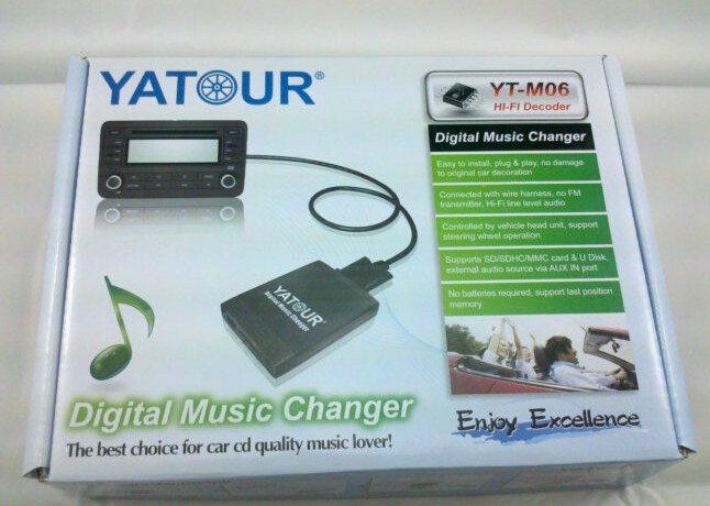 Yatour YT-M06 for Honda Acura 2004-2011 Car Audio Radio USB Adapter Player Digital  Music Changer Mp3 Player for Accord Civic