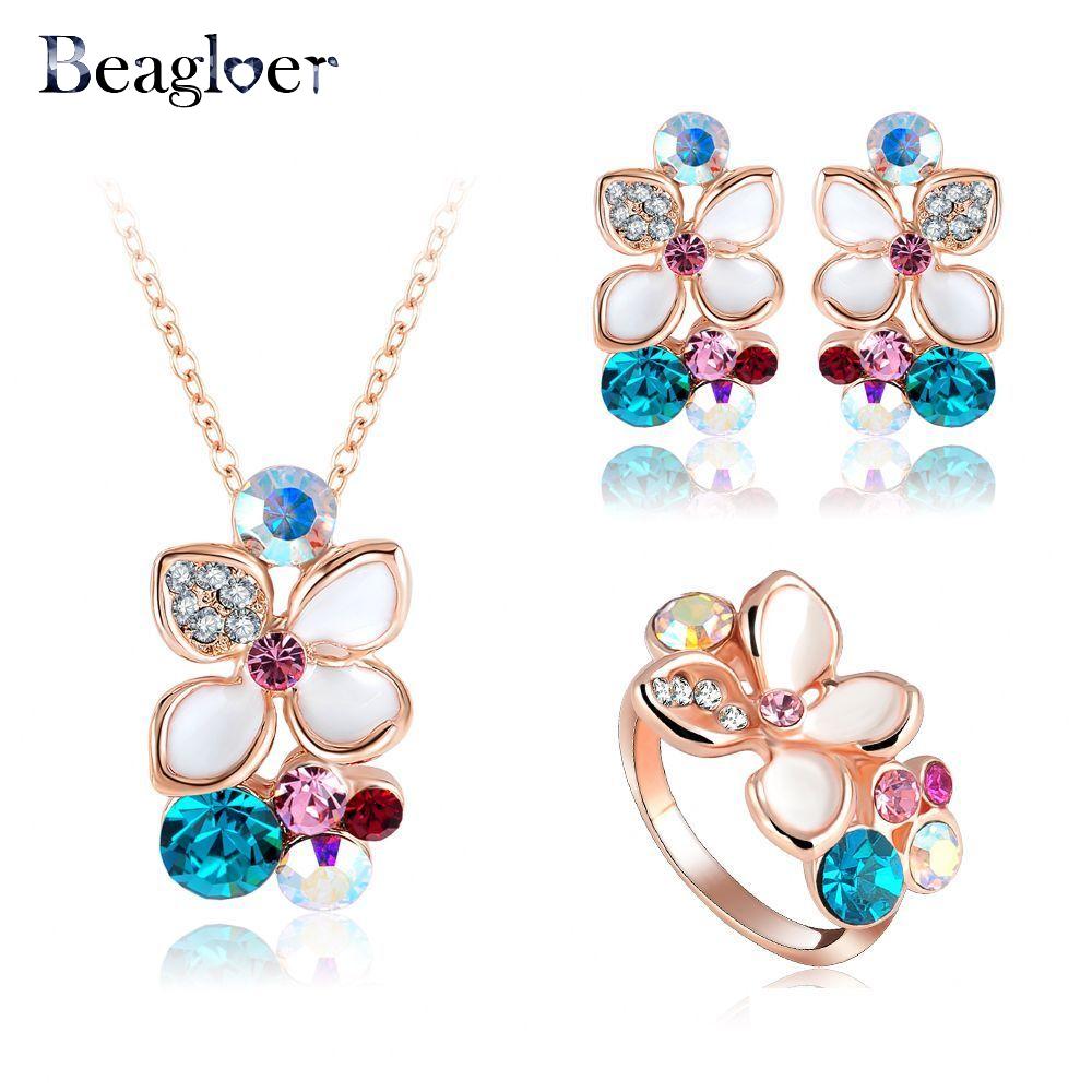 Aliexpress.com : Buy Beagloer New Brand Enamel Flower ...