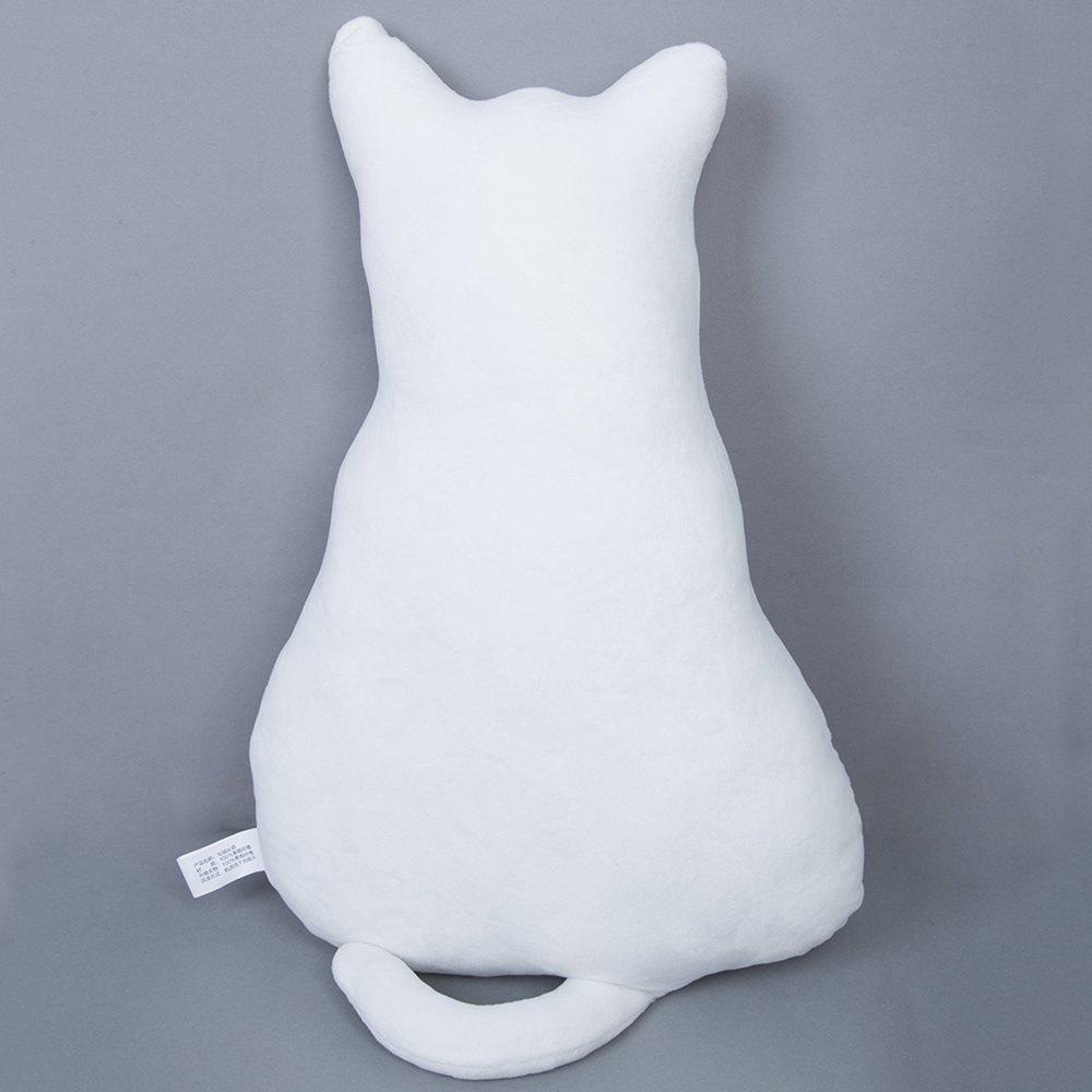 45cm Cute Soft PP Cotton Material Plush Back Shadow Cat Seat Sofa Cushion/Pillow Cushion Girls Bolster(China (Mainland))