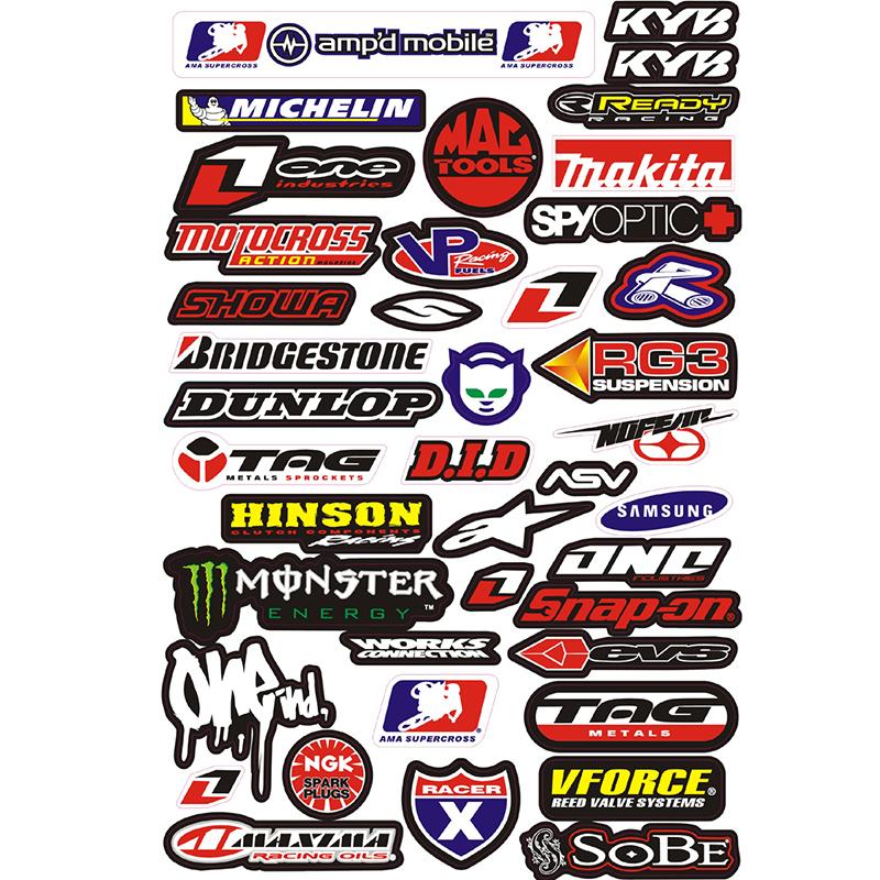 3M Decals Stickers graphics for pit bike dirt bike street bike racing motorcycle ATV monkey dax quad(China (Mainland))