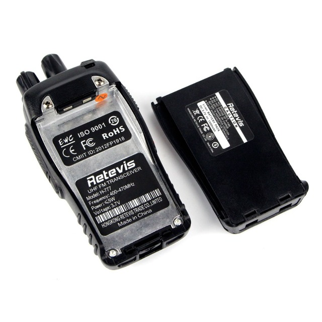 2 pcs Retevis H777 Walkie Talkies