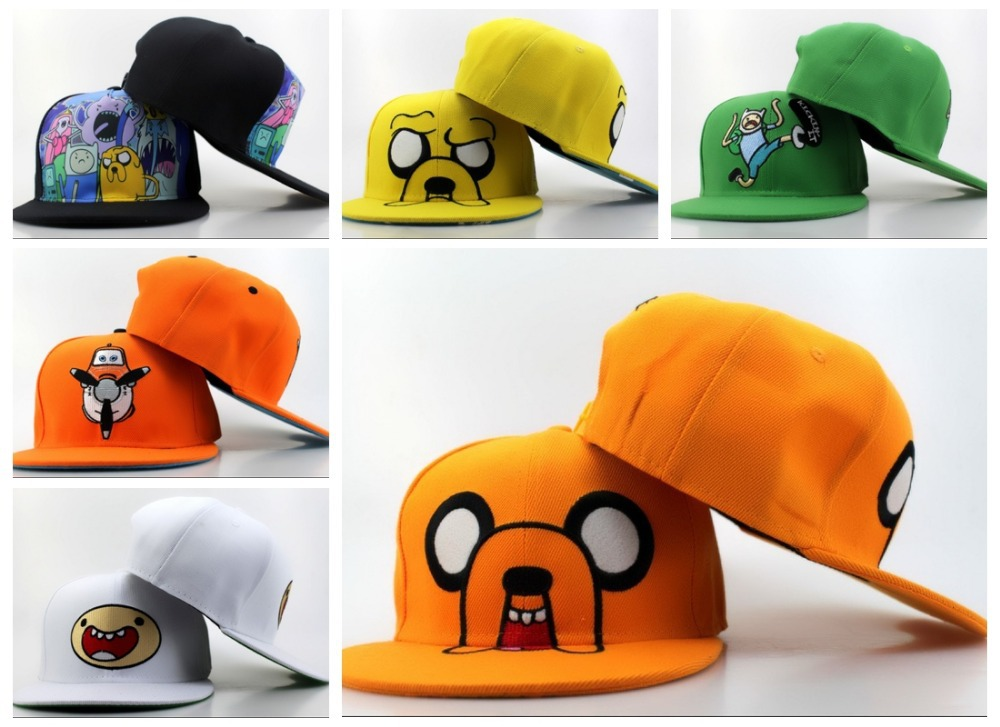 цены  Adventure Time Adventure Big snapback hats caps Snapback /casquettes gorras Adventure Time Adventure Big baseball caps Bone