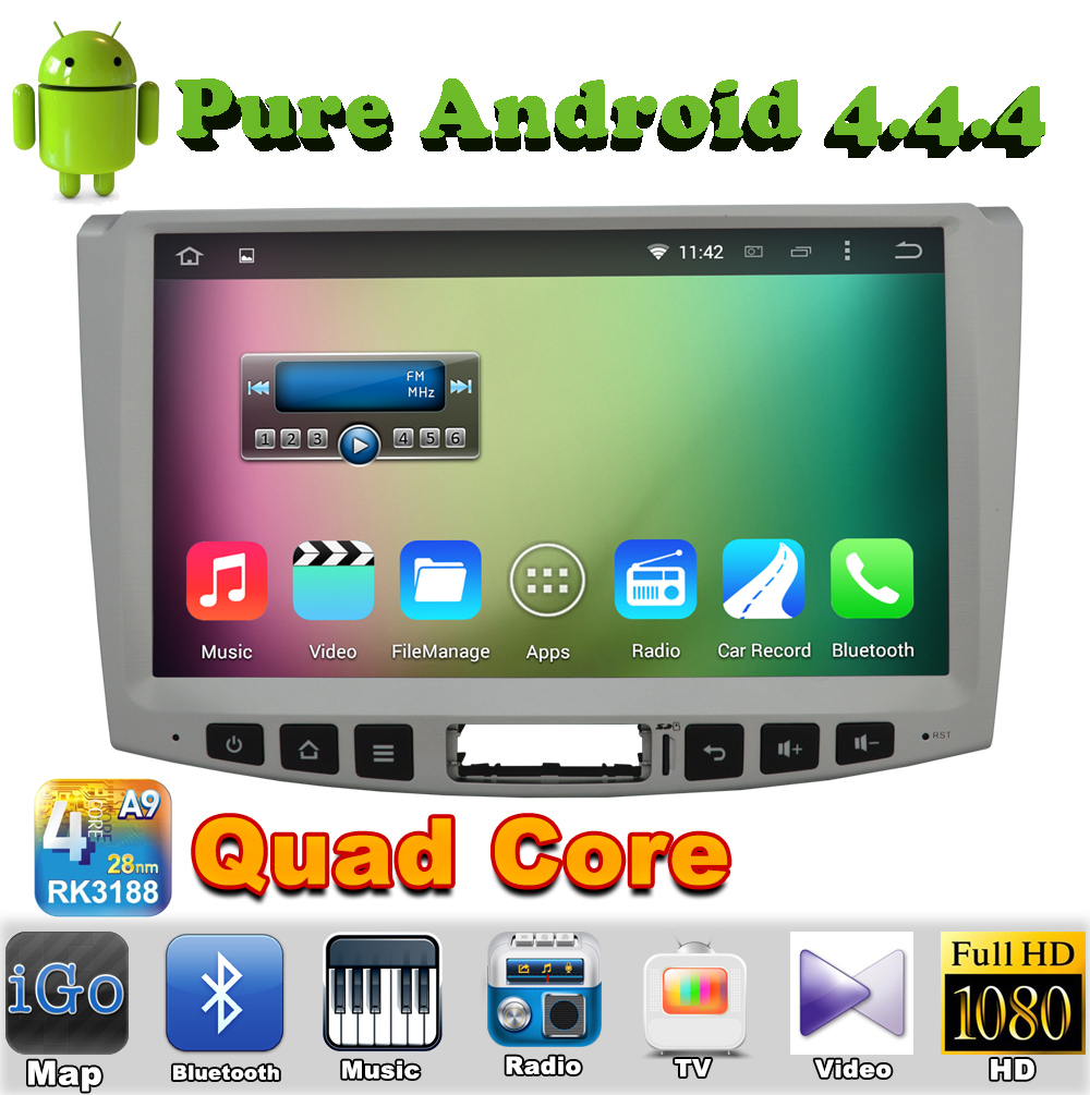 "10.1"" 2 din Quad Core Android 4.4 Car DVD Automotivo For Volkswagen Magotan Passat CC 2012 2013 2014 with GPS Radio Bluetooth(China (Mainland))"