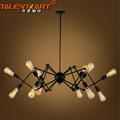 110v 220v Spider Loft Pendant Lights Home Lighting lamparas de techo Iluminacion Interior Industrial Lighting 10