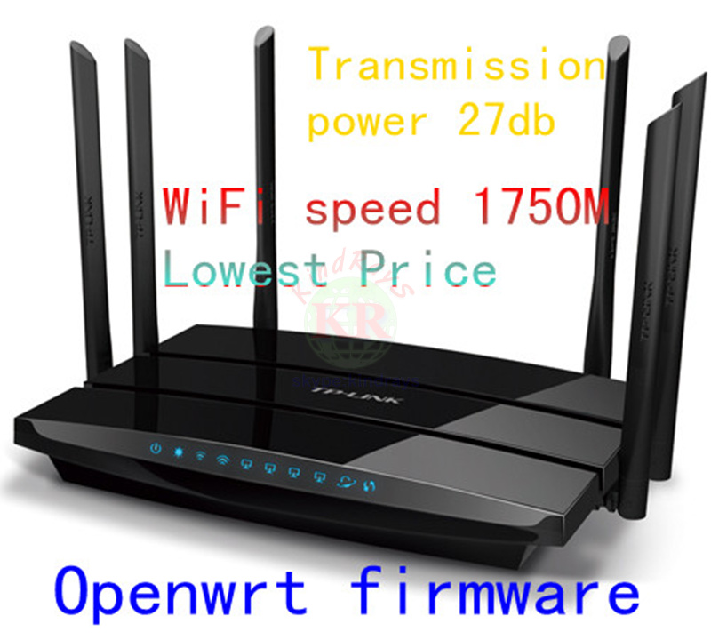 openwrt 11ac WIFI Router 1750Mbps Dual Band WIFI Repeater roteador TP LINK TP-LINK TL WDR7500 Archer C7  Wireless booster qos<br><br>Aliexpress