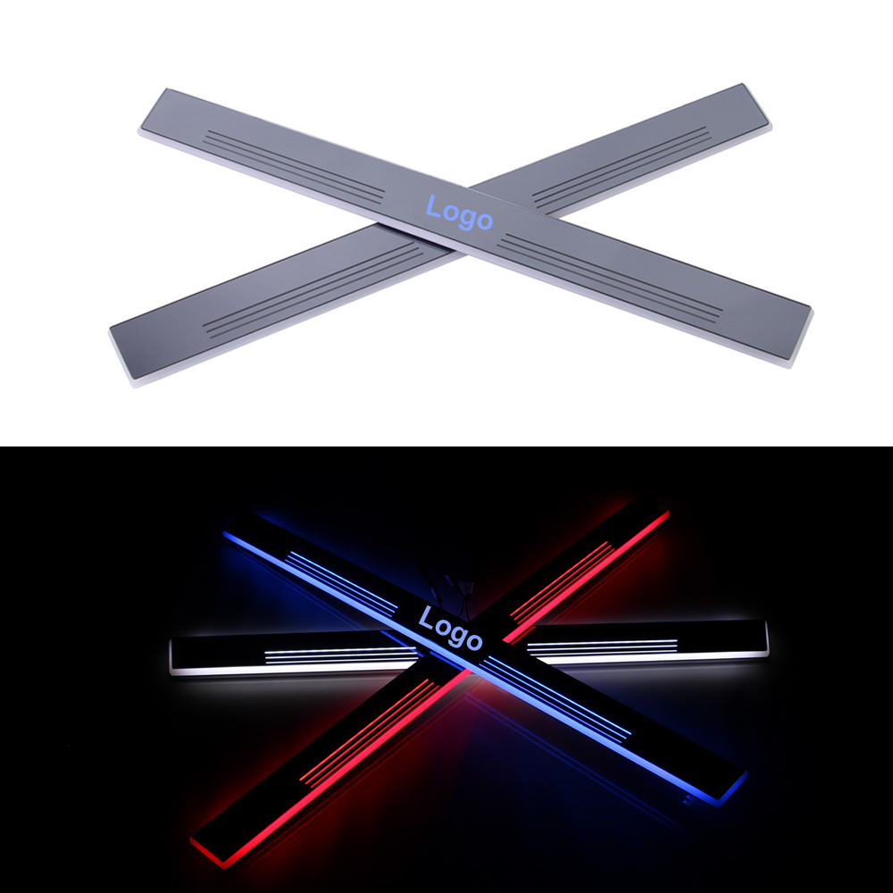 2 Pcs Car Styling LED Flash Door Sills Moving Scuff Plate Light Panel Front Door For Land Rover Evoque 2011 2012 2013 2014 2015<br><br>Aliexpress