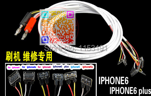 Phone Professional Repair Power data cable iphone4/4S/5/5S/5C/6/6-plus DC power supply current test - Cellphone Parts Accessories and Solutions store