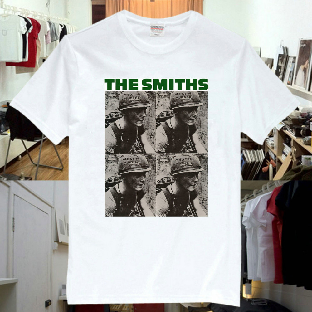 The Smiths Meat Is 2016 New Fashion Men and women T shirts Short Sleeve Tshirt Cotton(China (Mainland))