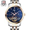 2017new top BINKADA Men Watches Men Luxury Brand Mechanical Watch Business Men Wristwatch Sapphire Stainless Steel