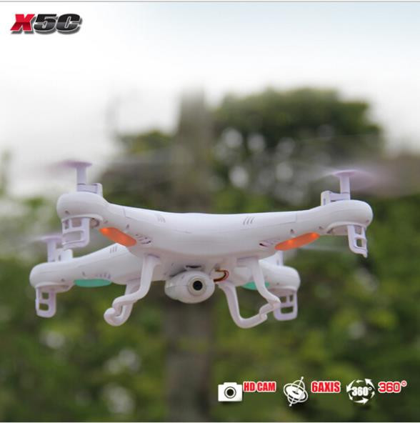 SYMA Drones 2.4G 4CH Remote Control RTF Quadcopter RC Helicopter X5C-1 With 2MP