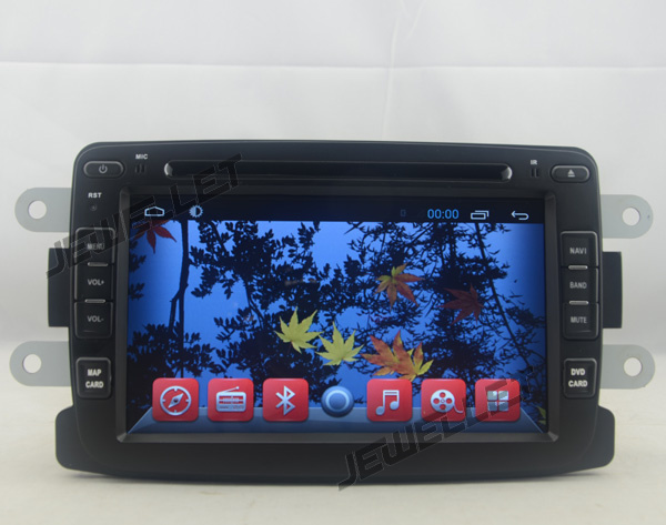 Android 4.4 Car DVD GPS Navigation for Renault Duster Dacia Duster Logan Sandero with 3G/Wifi DVR OBD 1080P(China (Mainland))