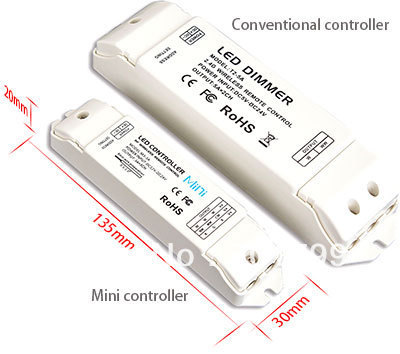 M3-CV;LED Receiving controller,compatible with M1/M2/M3/M5/M6/M7 remote;DC12-24V;3A*3channel