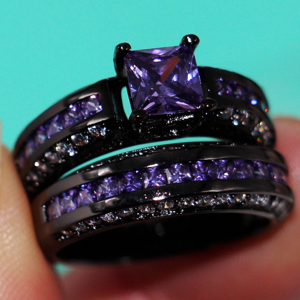 get cheap amethyst engagement ring aliexpress
