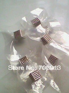 Free shipping D3mm Nickel N35 Neocube Neo cubes Magnetic Balls DIY novel toys(China (Mainland))