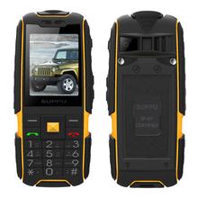 SUPPU X6000 Russian long standby Dual Card power bank FM radio shockproof IP67 100% real waterproof Rugged mobile phone P061(China (Mainland))