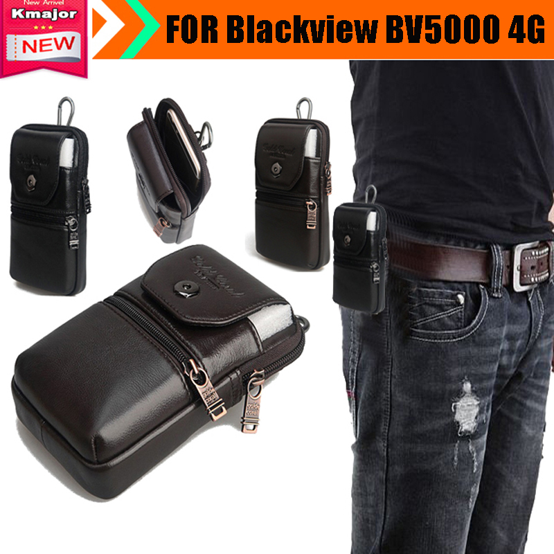 Genuine Leather Carry Belt Clip Pouch Waist Purse Case Cover for ...
