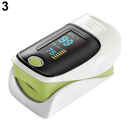 OLED Pulse Rate/Heart Rate Monitor/Oximeter