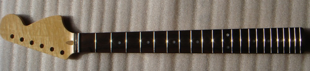 Big F Shape unfinished electric guitar parts ,Matt ST Guitar Neck(China (Mainland))
