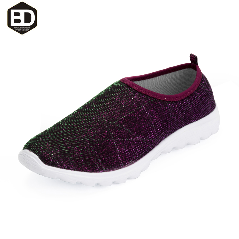 Casual style adult shoes for small feet  breathable mesh women casual shoes spring autumn slip on walking shoes zapatos mujer<br><br>Aliexpress
